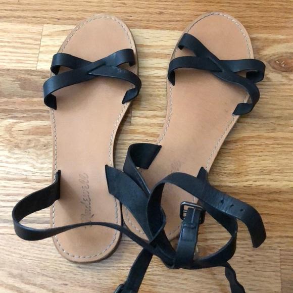 699af69fc7e8 Madewell Shoes - Madewell Boardwalk crisscross sandal